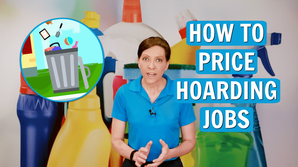 850 How to Charge for a Hoarding Job, Angela Brown, Savvy Cleaner