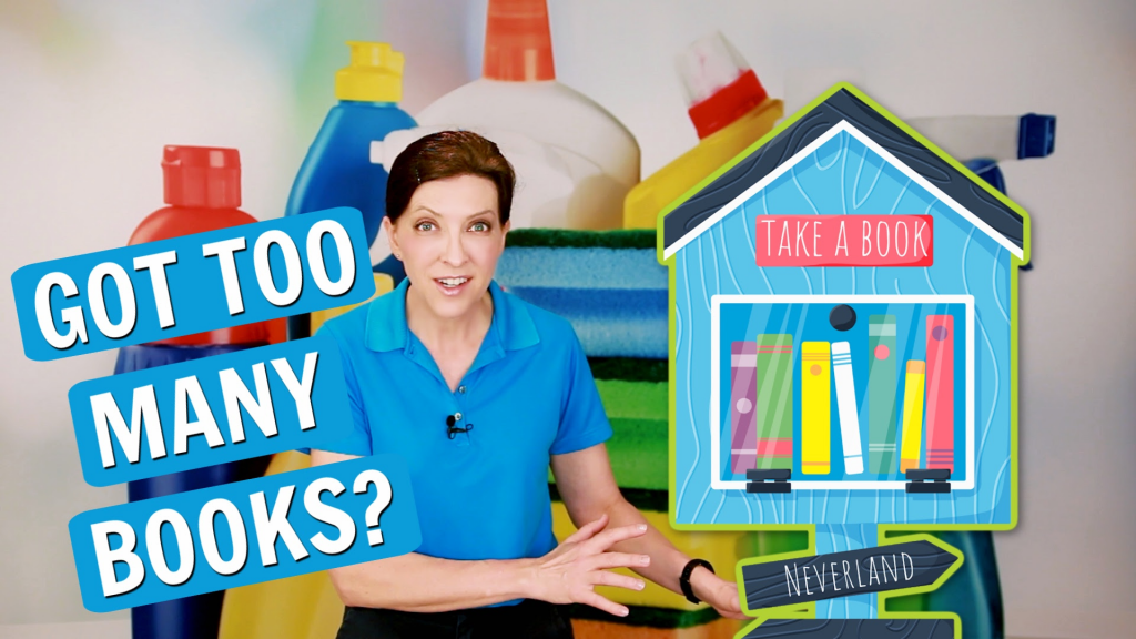992 How Do You Get Rid of Books, Angela Brown Ask a House Cleaner