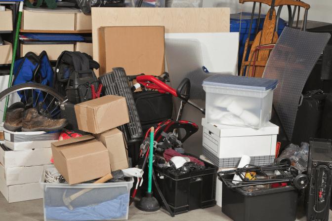 Grief Hoarding to Shoebox Memories, Boxes in Garage
