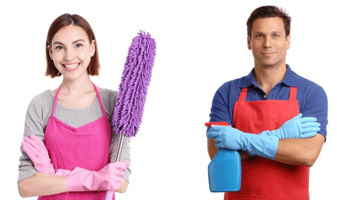 How and When to Say No to Hoarding Jobs Cleaning Couple
